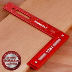 "Woodpeckers 1281 Precision Woodworking Square - 12"" X 8"""
