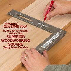 OneTIME Tool - 1281SE Special Edition Woodworking Square - Retired November 10, 2019
