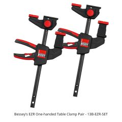 BESSEY's EZR One-Handed Table Clamp