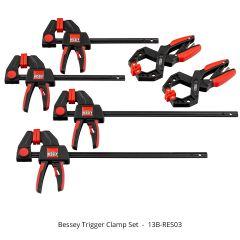 Bessey Trigger Clamp Set