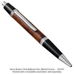 Sierra Button Click Ballpoint Pen
