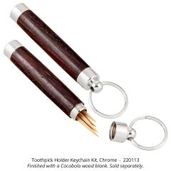 Toothpick Holder/Key Chain Kit