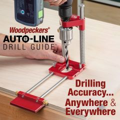 Auto-Line Drill Guide