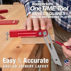 OneTIME Tool - Bevel Squares & Angle Reference Plate -  2021 - Retired Monday, June 7, 2021