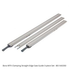 Bora WTX Clamping Straight Edge Saw Guide 3-piece Set