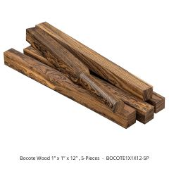 Bocote Thin Stock Lumber