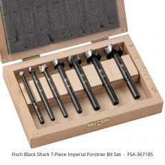 Black Shark Forstner Bit Set 7-piece