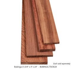 Bubinga Thin Stock Lumber