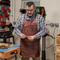 Calavera Leather Apron