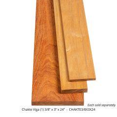 Chakte Viga Thin Stock Lumber