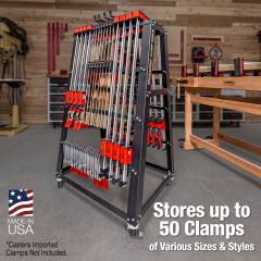 Woodpeckers Clamp Cart