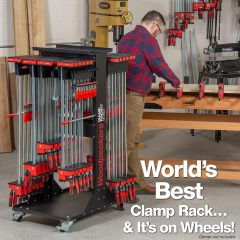 "OneTime Tool - Clamp Rack-It Mobile - 24"" - 2019 - Retired June, 17 2019"