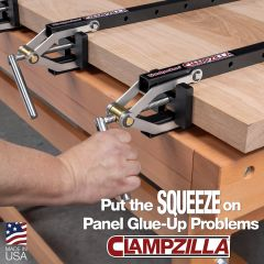 Clampzilla 4 way panel woodworking clamps by Woodpeckers