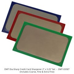 DMT Dia-Sharp Credit Card Sharpeners