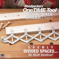 OneTIME Tool - EQUAL SPACE DIVIDER- 2021 - RETIRED APRIL, 12 2021