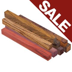 "Exotic Wood Blanks 1"" x 1"" x 12"""