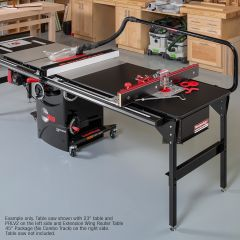 Extension Wing Router Table Premium Package - 23""