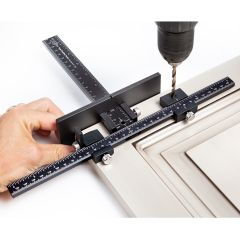 True Position Cabinet Hardware Jig