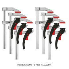 Bessey Kliklamp - 6 pack