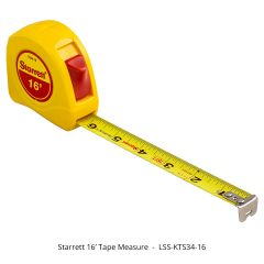 Starrett KTS34-16 16' Tape Measure