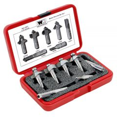 Whiteside 7-Pc Basic Router Bit Set