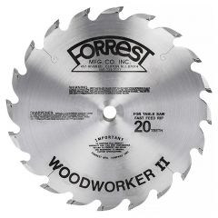 "Forrest Woodworker II 10"" Table Saw Blades"