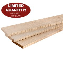 Curly Maple 10BF Bundles
