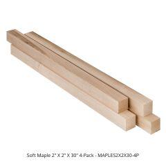 Maple, Soft Turning Blanks