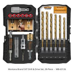 Montana Brand SXT Drill and Drive Set 28-piece