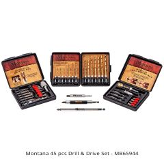 Montana Brand 45pc Drill & Drive Set