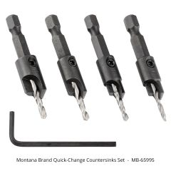 Montana Brand Quick-Change Countersinks Set