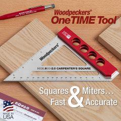 One Time Tool - Model 6SS -2.0 Carpenter's Square - 2020 - Retired June 8, 2020