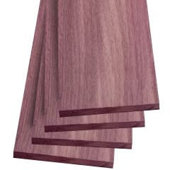 Purpleheart Thin Stock Lumber