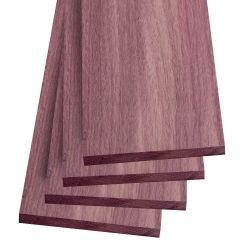 Purpleheart Thin Stock Lumber