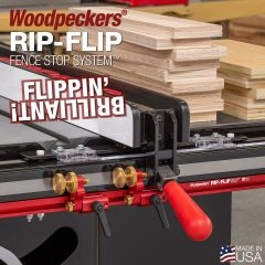 Woodpeckers Rip-Flip Fence Stop System