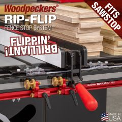 Woodpeckers Rip-Flip Fence Stop System - SawStop