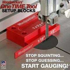 OneTIME Tool - Setup Blocks - 2021 - Retired May 10, 2021