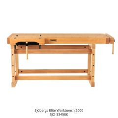 Sjobergs Elite Workbench 2000 + SM04 Cabinet Combo