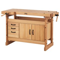 Sjobergs Nordic Pro 1400 Workbench and SM03 Cabinet Combo and Accessory Kit