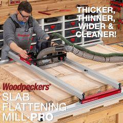 Woodpeckers Slab Flattening Mill Pro