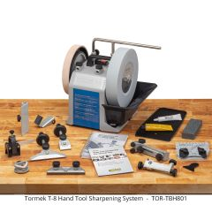 Tormek T-8 Hand Tool System - Free Ground Shipping on this product (U.S. 48 contiguous states only).