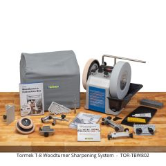 Tormek T-8 Woodturner System - Free Ground Shipping on this product (U.S. 48 contiguous states only).