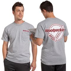 Woodpeckers Adult Short-Sleeve Cotton Tee Shirt With Pocket
