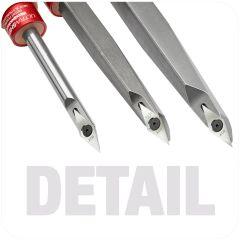 Ultra-Shear Detail Carbide Insert Tools