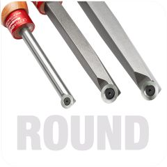 Ultra-Shear Round Carbide Insert Tools