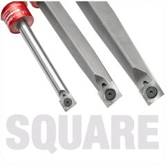 Ultra-Shear Square Carbide Insert Tools