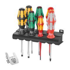 Wera 7 Piece Kraftform Screwdriver Set & Tool Rebel Bottle Opener