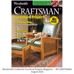Woodsmith Craftsman Furniture Projects  100-page Guide