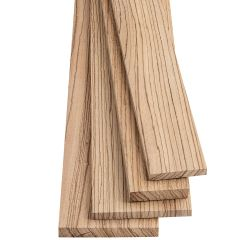 Zebrawood Thin Stock Lumber
