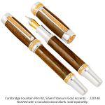 Cambridge Hybrid ™ Rollerball and Fountain Pen Kits